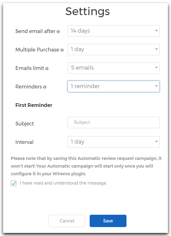 How to create an email template for automated review ...