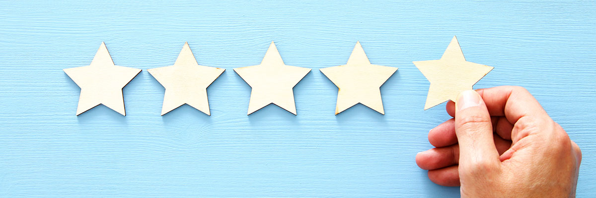 The 10 best types of social proof - Customer reviews and ratings