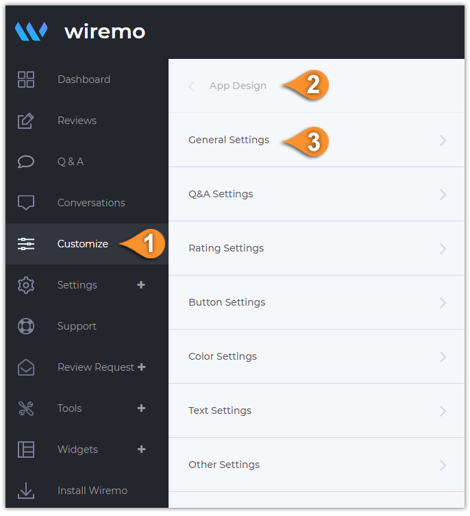 How to Remove Wiremo Branding