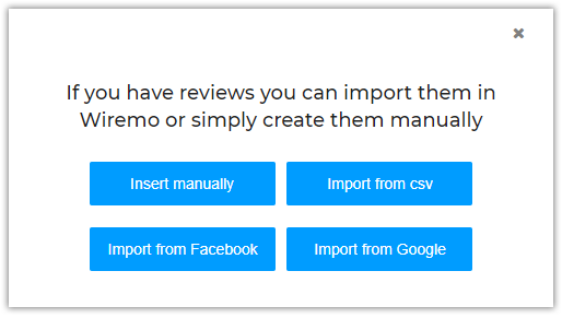 How to import customer reviews from Facebook