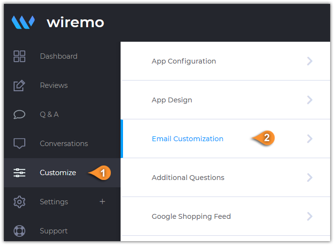 Wiremo Email Editor