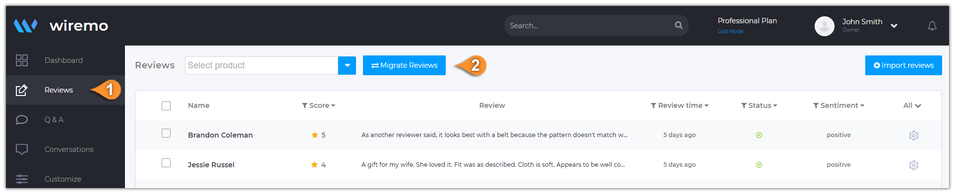 How to Migrate Reviews From Squarespace to Shopify