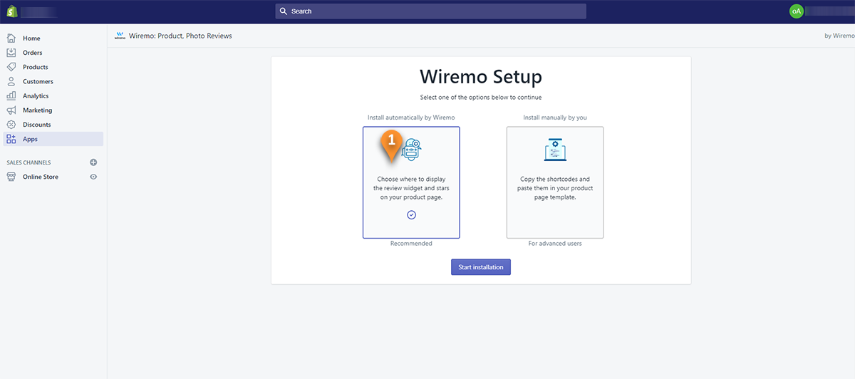 Install Wiremo in Your Shopify Store