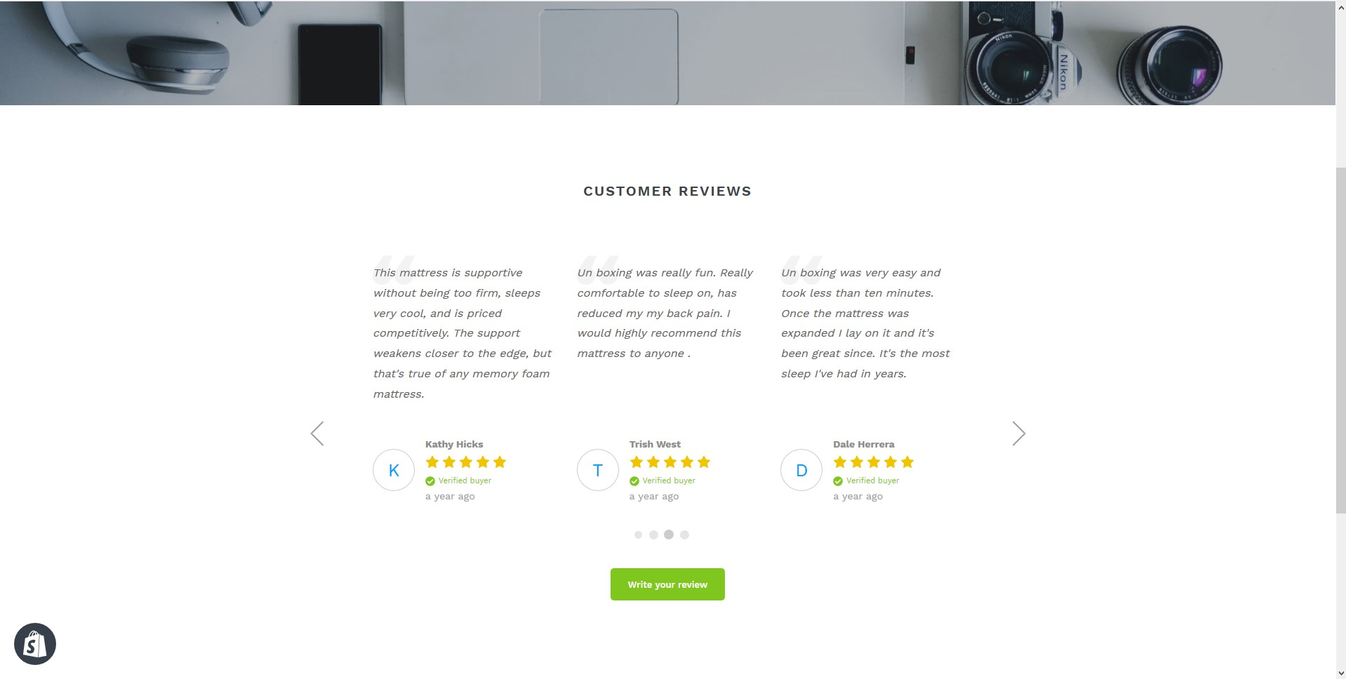 How to setup Customer Review Carousel on your Shopify store