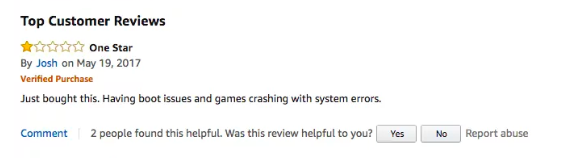 negative review example